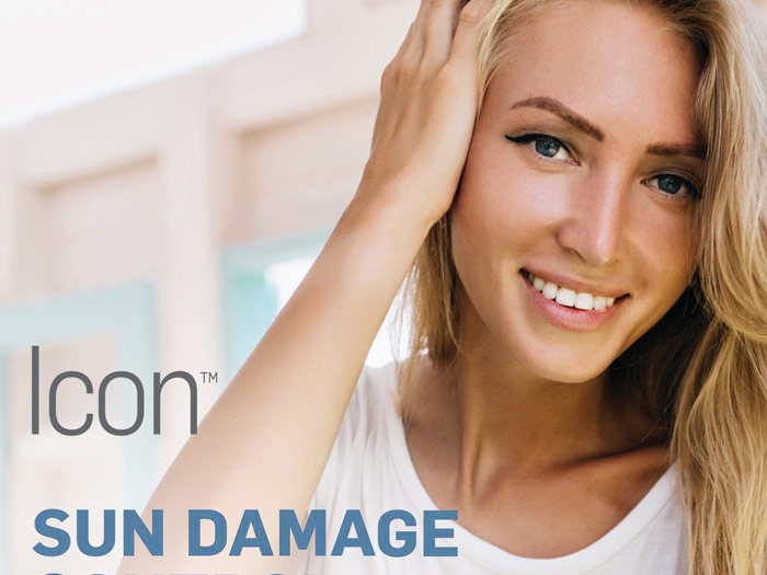 Cynosure Icon to repair sun damage, age spots, scars and stretch marks