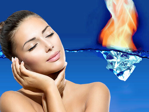 IS Clinical Fire and ice facial